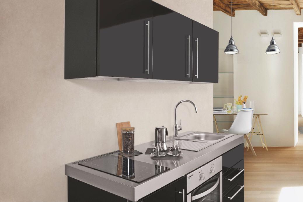 grindav k mpb160 minik che mit backofen. Black Bedroom Furniture Sets. Home Design Ideas